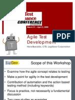 Agile Test Development