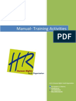 Manual Training Activities - H.R.Y.O.