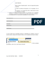 Manual de Crystal Reports