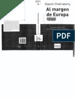 Chakrabarty Al Margen de Europa