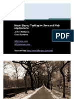 Model Based Testing for Web and Java