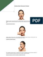 Aula de Ginastica Facial