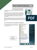 1 Introduction to Desktop Publishing