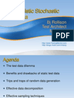 Probabilistic Stochastic Test Data