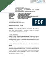 Poder Judicial Ordena Reposición de Guadalupe Curasi yabar