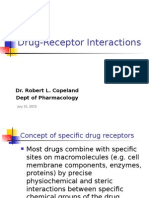 Drug Receptor Interactions