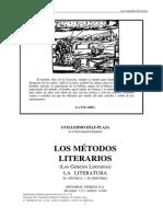 Díaz-Plaja, Guillermo - Los Métodos Literarios