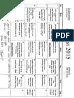 OPTIONS Calendar
