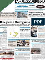 La Gazzetta del Mezzogiorno 31.07.2015