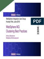 w Mq Cluster Best Practices