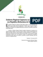 Comunicado Venezuela Grc