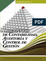 Diccionario de contabilidad, auditoria y control de gestion