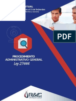 Ley Procedimiento Administrativo General