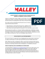 O'Malley Criminal Justice Reform Plan