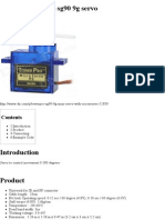 Arduino Towerpro Sg90 9g Servo - TkkrLab