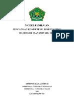 Draf Penilaian dan Model Rapor MTs Horison Bogor.docx
