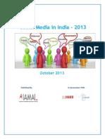 Social Media in India - 2013