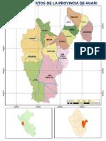 Mapa de Distritos_huari