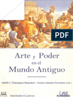 Adolfo Jerónimo Domínguez Monedero & Carmen Sánchez Fernández, Arte y poder en el mundo antiguo.pdf