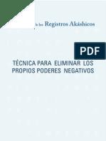 Técnica de los Registros Akáshicos para eliminar los poderes negativos