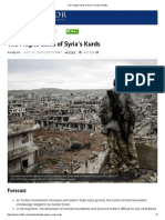 The Fragile Gains of Syria's Kurds _ Stratfor