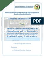 Informe de Analisis Del Rio Portoviejo