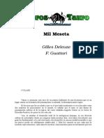 Deleuze, Gilles & Guattari, F. - Mil Mesetas (Clases 1 y 2)