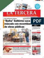 Diario La Tercera 31.07.2015