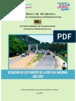 Situación de Puentes Red Vial Nacional 2013