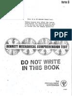 Bennett Mechanical Comprehension Test (3)
