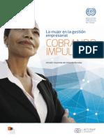 OIT 2015 La Mujer en La Gestión Empresarial_Cobrando Impulso