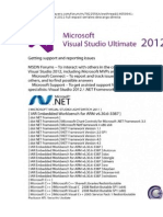 Visual Studio Ultimate 2012