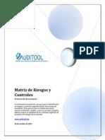 Matriz de Riesgos y Controles de Un Proceso de Inventarios