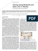 Patient Monitoring Using Bluetooth and Wireless LAN