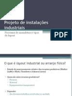 Processos de Manufatura e Tipos de Layout 2