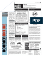 Claremont COURIER Classifieds 7-31-15
