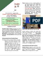 Moraga Rotary Newsletter- July 28, 2015 PDF