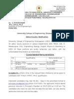 Adhoc Faculty Notification 2606