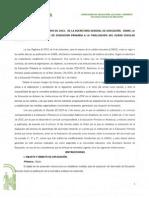 Instrucciones 12 Mayo 2015 Evaluacion Primaria