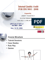 Internal Quality Audit for ISO 9001_2008