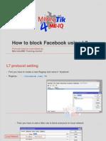 How to Block Facebook Using L7