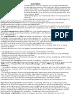 PMP Key notes