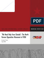 """""""We Need Help From Outside"""" the North Korean Opposition Movement of 1956"""