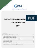 Informe Afac Flota Circulante 2014 Final