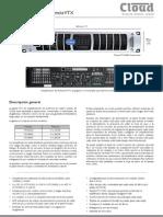 Cloudcloud VTX Power Amplifiers ES v3
