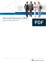 Dynamics CRM 2011 Power Business Productivity- All-up Datasheet-FINAL for Dummyes