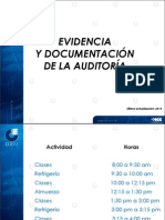 Evidencias de Auditoria