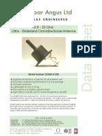 OmnidirectantQOM0!9!20S Datasheet