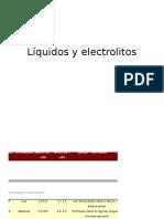 Líquidos y Electrolitos Org