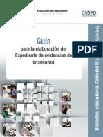 Guía Académica Secundaria Ciencias III Química